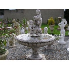Zahradní fontána Dvojčata H