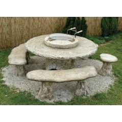 Zahradní grilovací stůl - Kamelot