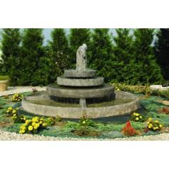 Kaskádová fontána velká