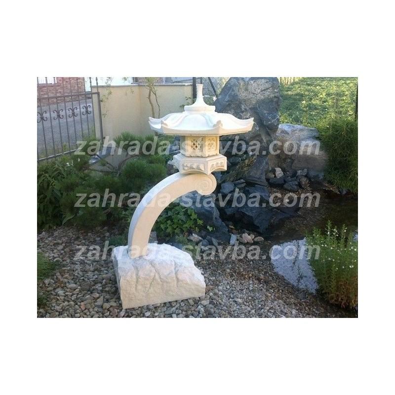 Japonská lampa k vodě velká