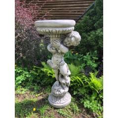 Zahradní socha Chlapec s mísou