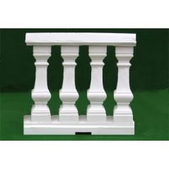 Zámecká balustráda -zábradlí