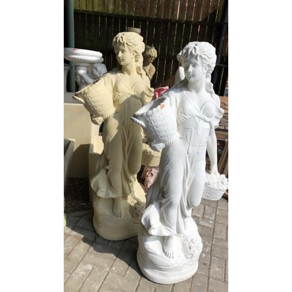 socha Květinářka