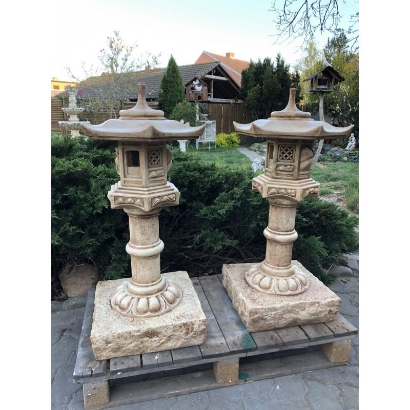 Japonská lampa střední