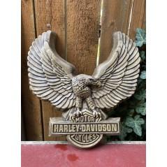Harley Davidson - plastika orlice na zeď