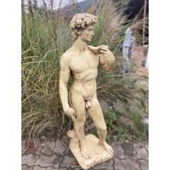Zahradní socha - David