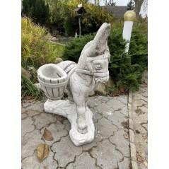 Osel do zahrady + 2 koše