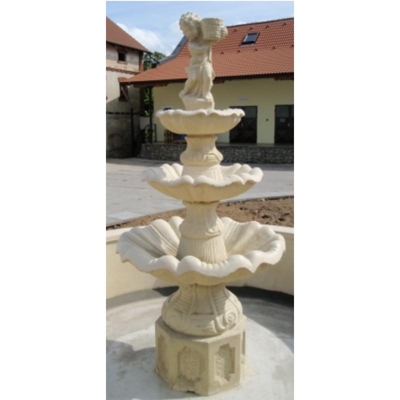 Zahradní fontána kulatá 2m