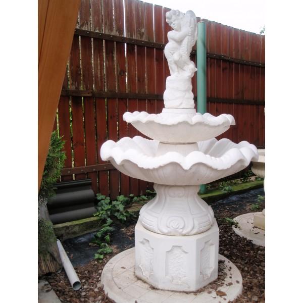 Zahradní fontána střední - Amor košík