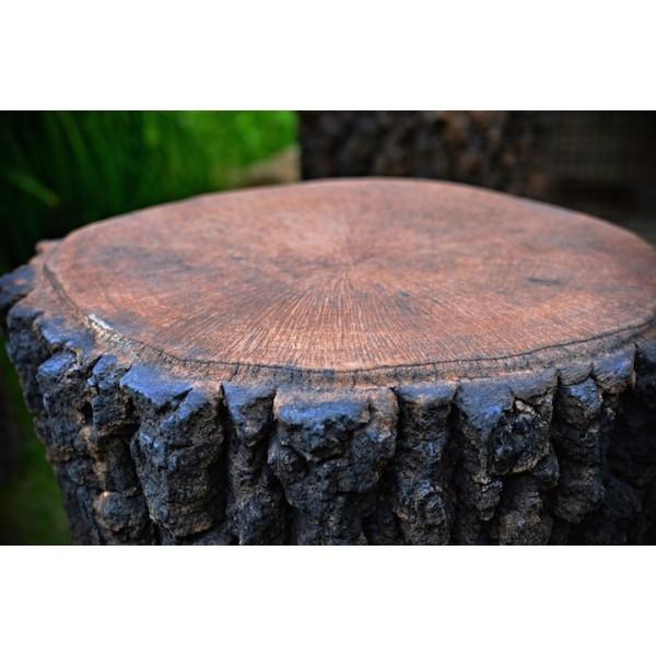 Pařez imitace dřeva