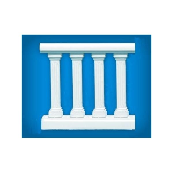 Sloupkové zábradlí - balustráda