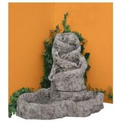 Fontána  - kamenná kaskáda