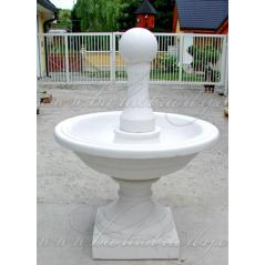 Zahradní fontána Hradní s koulí