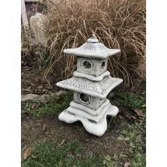 Japonská lampa Pagoda  patina