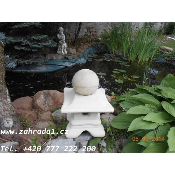 Japonská lampa Pagoda koule