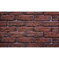Hand Brick červený - cihlový obkladový pásek