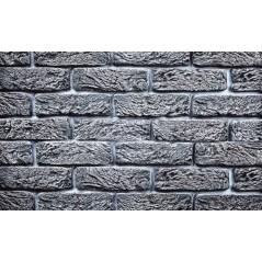 Hand Brick světle šedý cihlový obklad