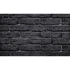 Hand Brick tmavě šedý cihlový obklad