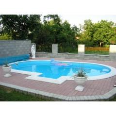 Bazénový  lem - rovný