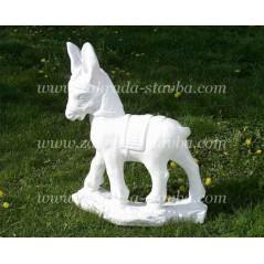 Osel - zahradní socha