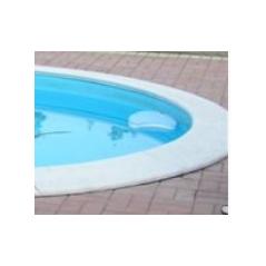 Bazénový obloukový lem