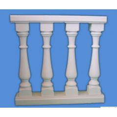 Klasická vysoká balustráda